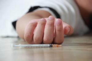 تعاطى المخدرات عن طريق الحقن
